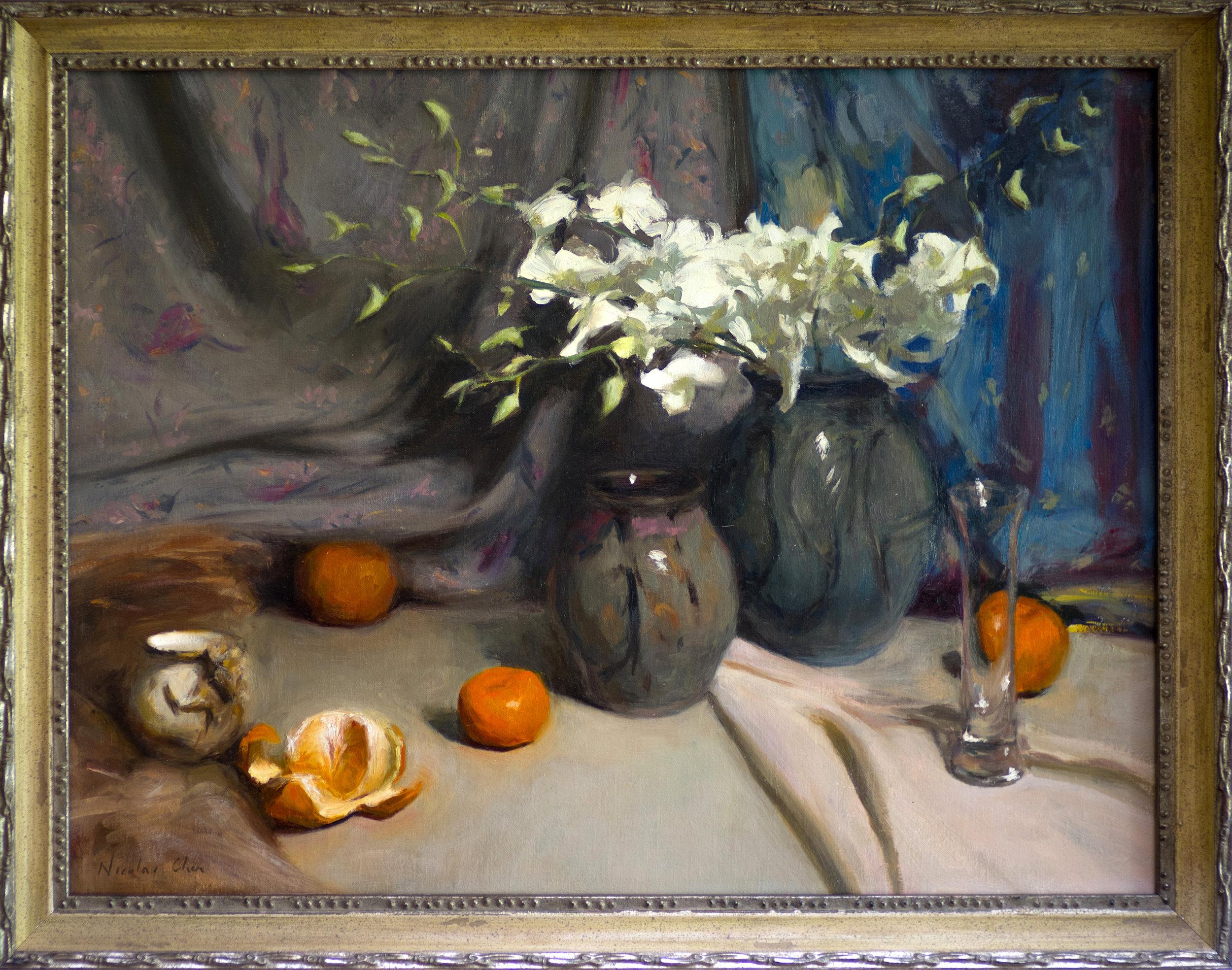 still life w mandarins framed.jpg