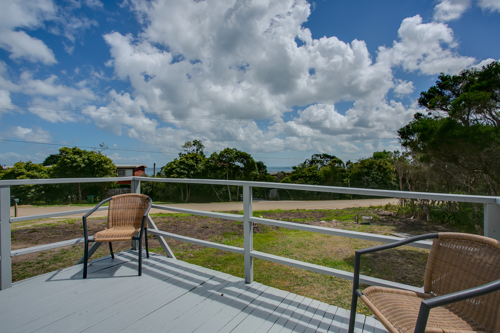 View from front verandah