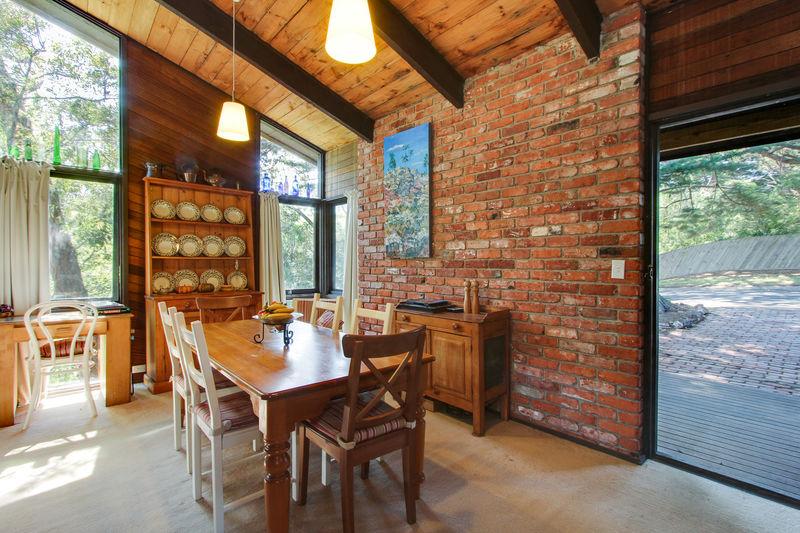 Atmospheric dining room