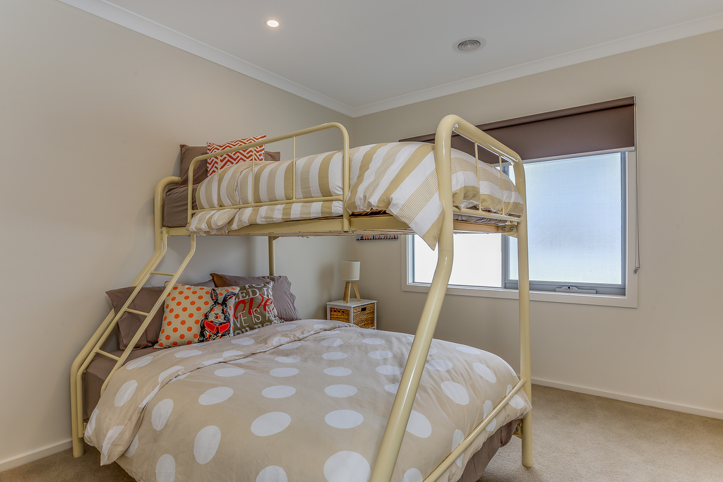 Bedroom 3 with single over double
