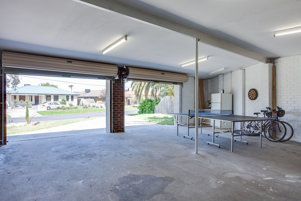 Table tennis and big double garage