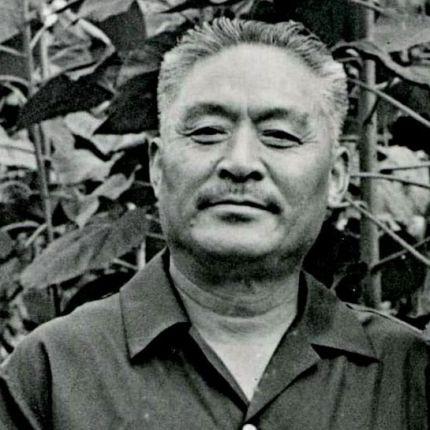 Zhào Yùzhāi shown in 1983, from  guzheng.cn
