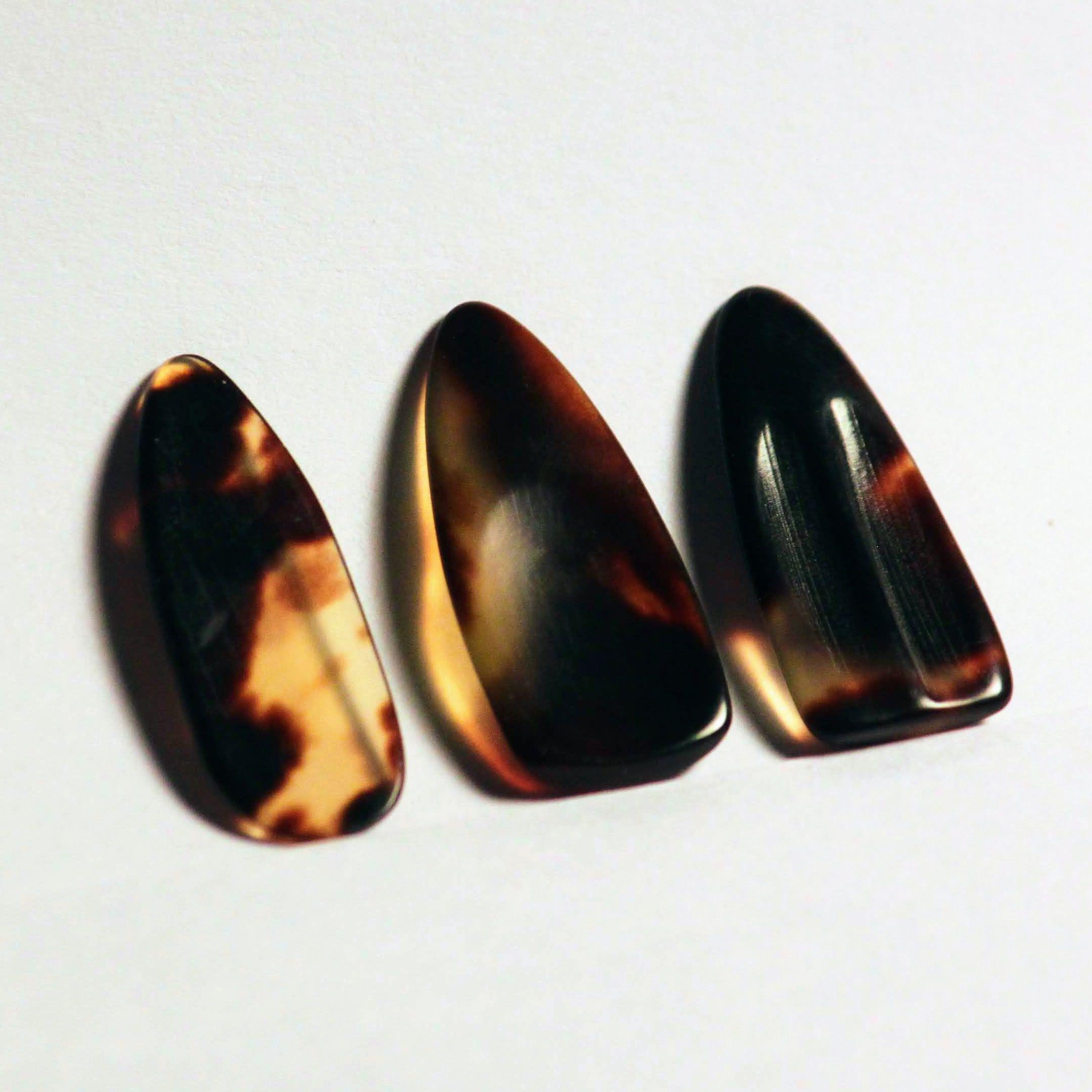 Tortoise Shell nails, variety of styles.