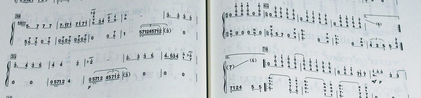 How to Read Guzheng Sheet Music -