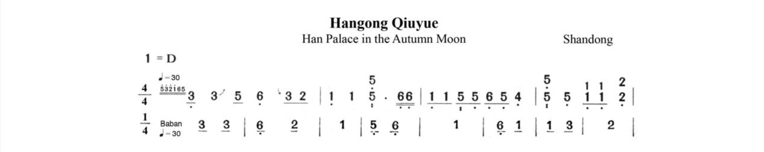 Mother Tunes and Music Theory — Guzheng 箏 Alive