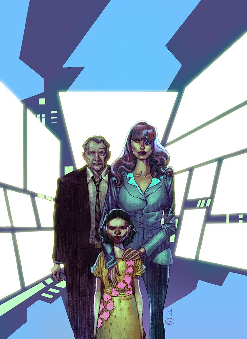 """Cover  """"Orfani: Juric""""#3  Pencil: Nicola Mari  Colors: Barbara Ciardo  SERGIO BONELLI EDITORE"""