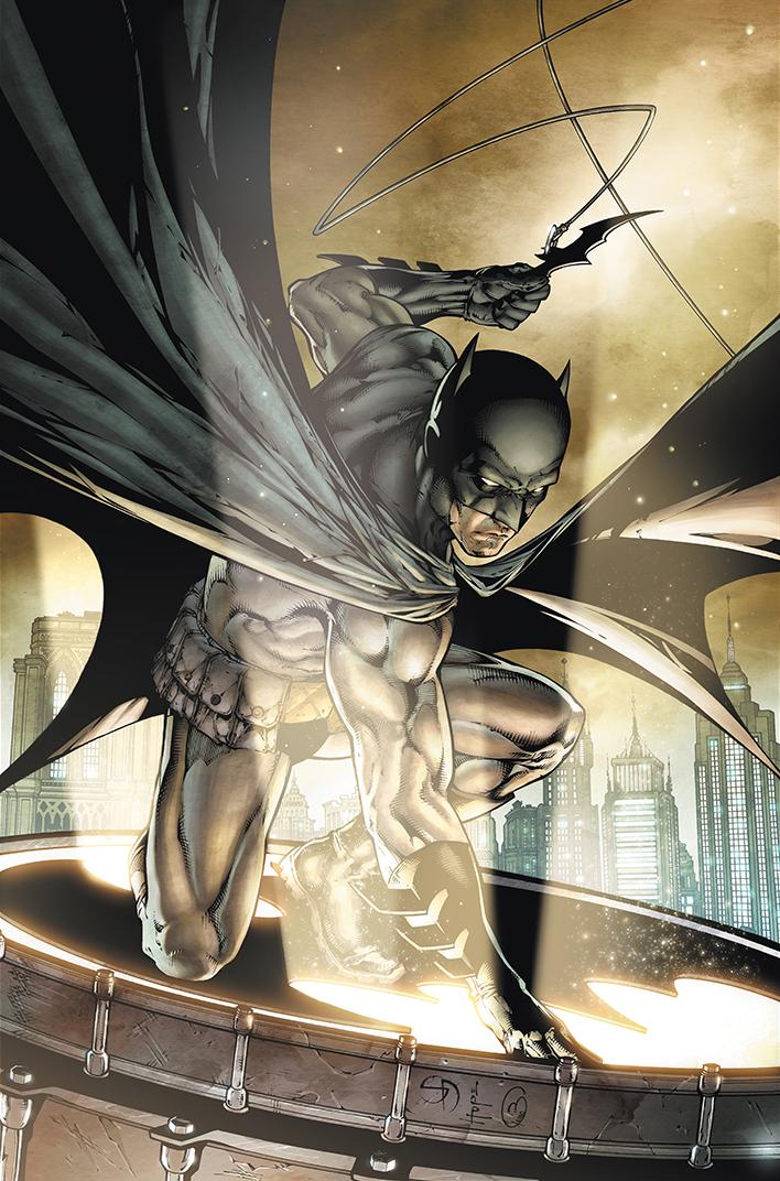 "Illustration  ""Batman"" #700  Pencil: Shane Davis  Ink: Sandra Hope  Colors: Barbara Ciardo  DC COMICS"