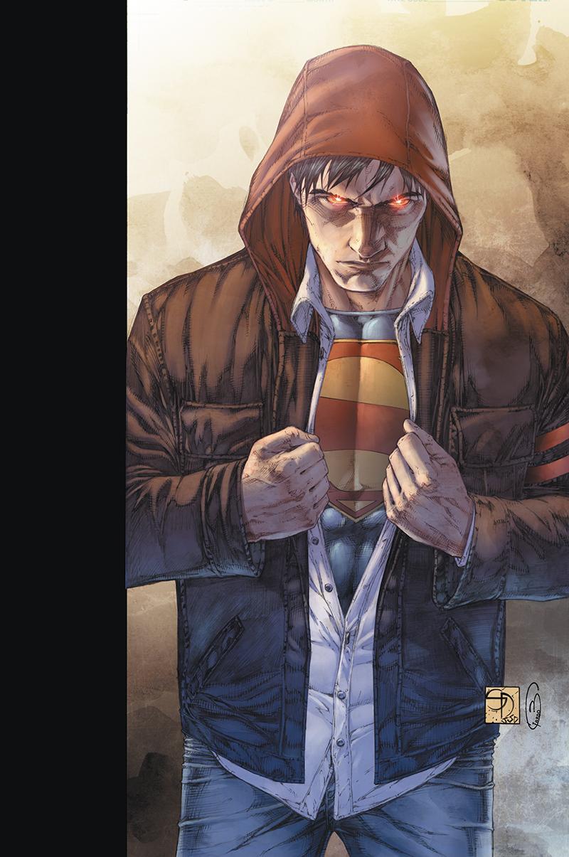 "Cover  ""Superman: Earth One"" vol.1  Pencil: Shane Davis  Ink: Sandra Hope  Colors: Barbara Ciardo  DC COMICS"