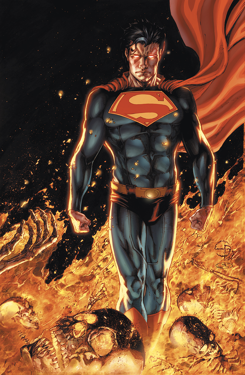 "Cover  ""Superman: Earth One"" vol.2  Pencil: Shane Davis  Ink: Sandra Hope  Colors: Barbara Ciardo  DC COMICS"