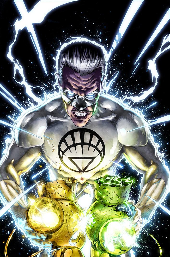 "Variant Cover  ""Green Lantern"" #52  Pencil: Shane Davis  Ink: Sandra Hope  Colors: Barbara Ciardo  DC COMICS"