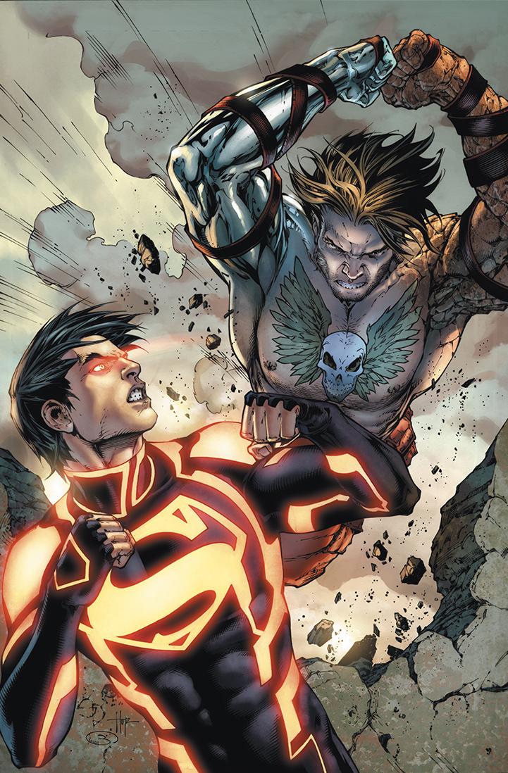 """Cover  """"Superboy"""" #8  Pencil: Shane Davis  Ink: Sandra Hope  Colors: Barbara Ciardo  DC COMICS"""