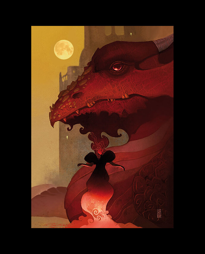 """""""GIRL AND HER DRAGON"""""""