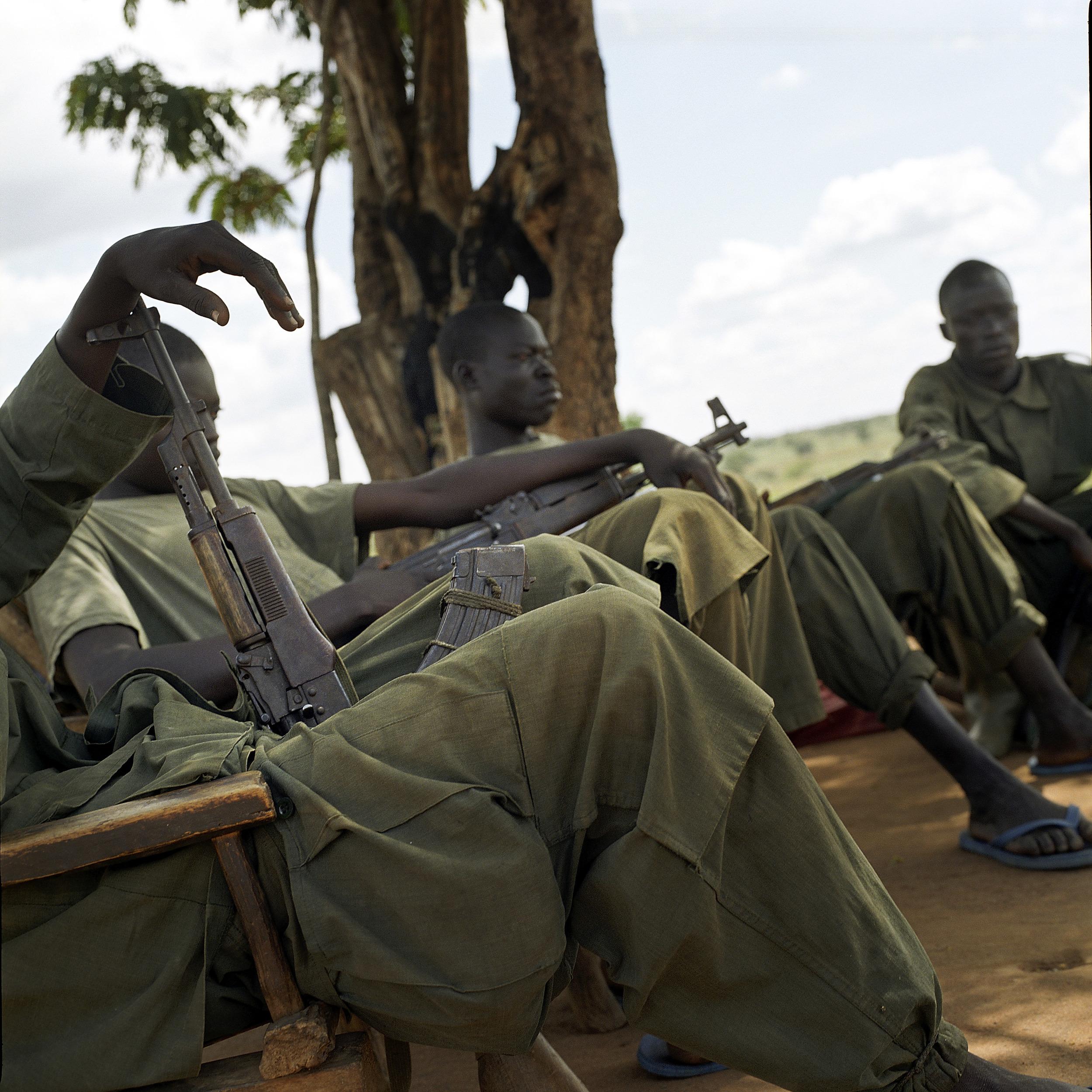 Uganda, Orom camp