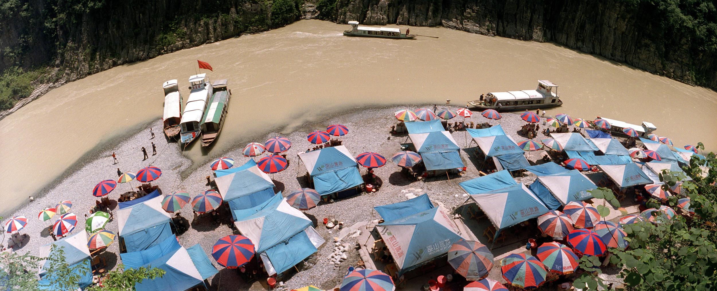 China, Wushan, Yangtze river
