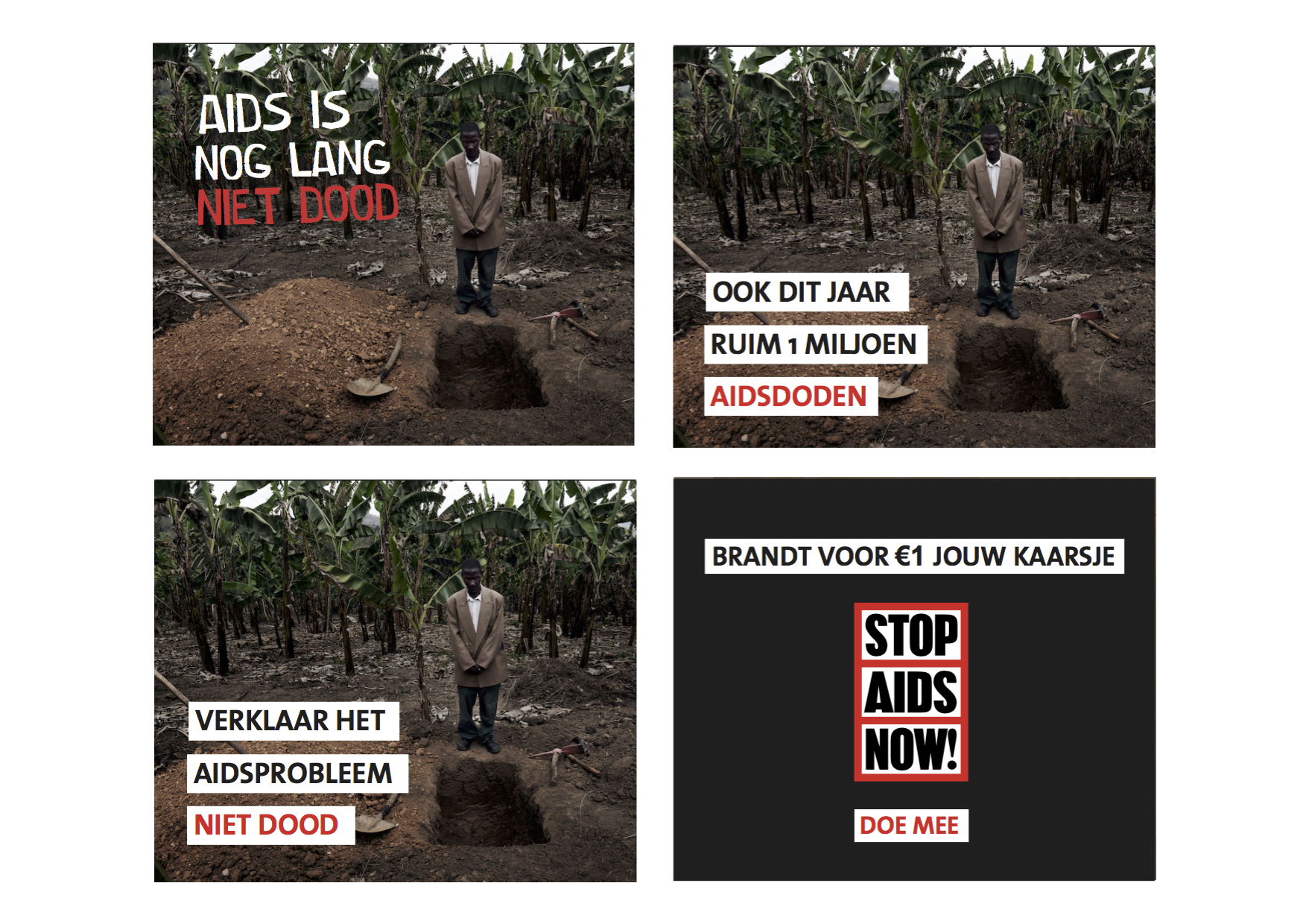 Stop Aids Now, campaign autumn 2015