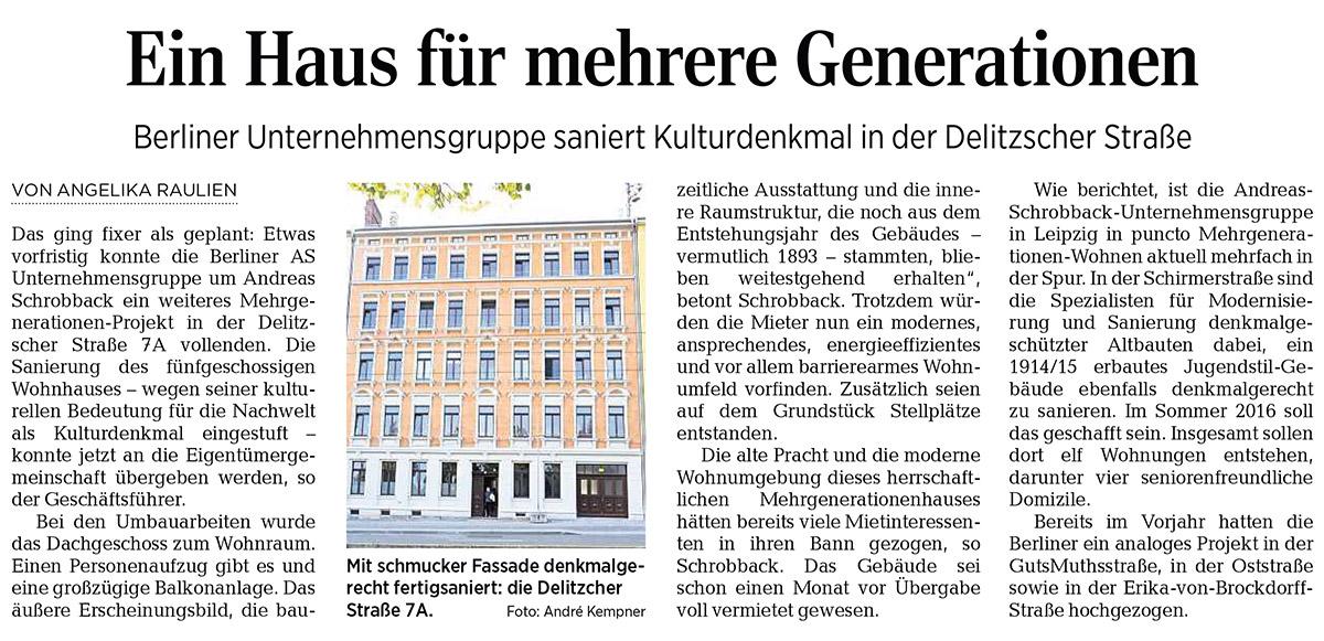 Leipziger Volkszeitung 08.10.2015