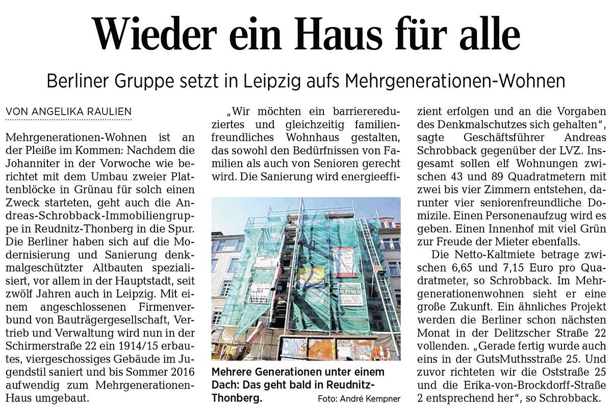Leipziger Volkszeitung 03.07.2015