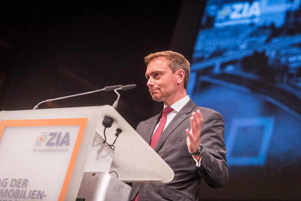 FDP Spitzenkandidat Christian Lindner