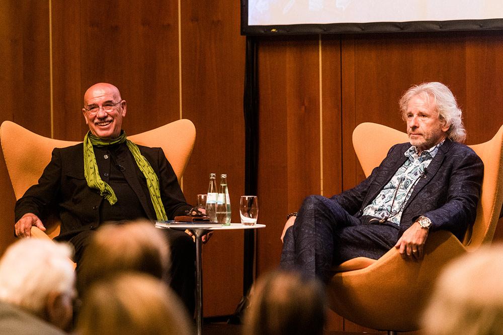 Thomas Gottschalk im Gespräch mit Otto Retzer