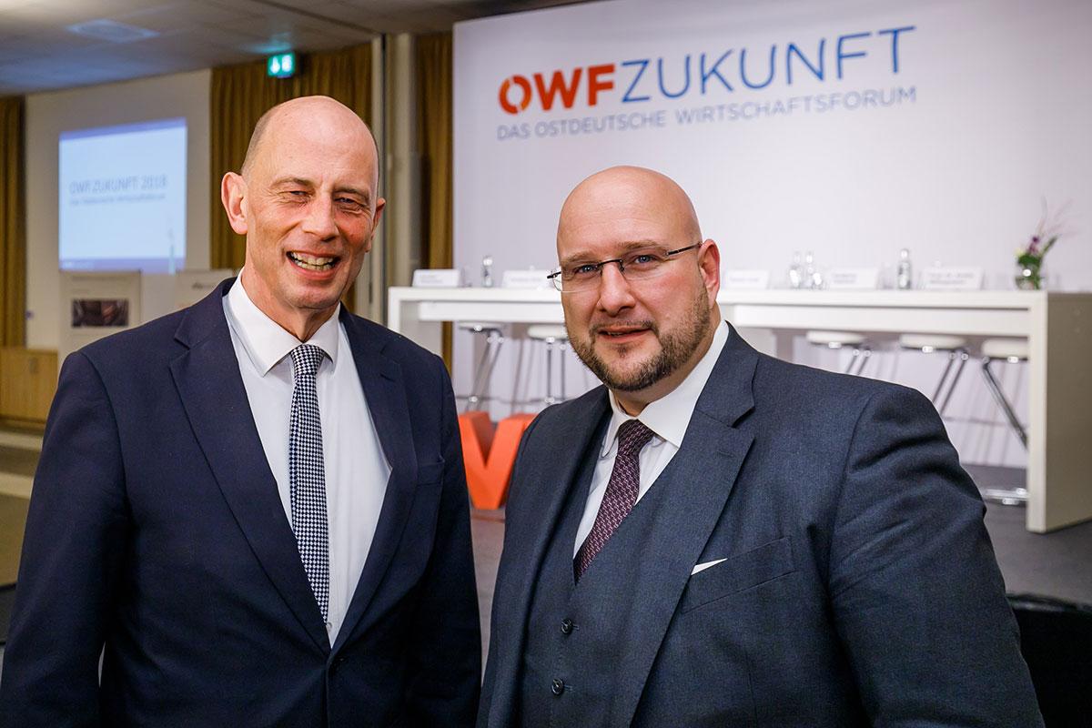 Andreas Schrobback im Gespräch mit Wolfgang Tiefensee