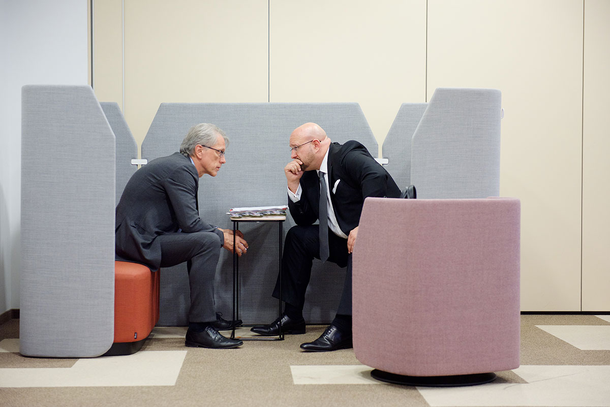 Andreas Schrobback im Gespräch mit Finanzsenator Kollatz aus Berlin
