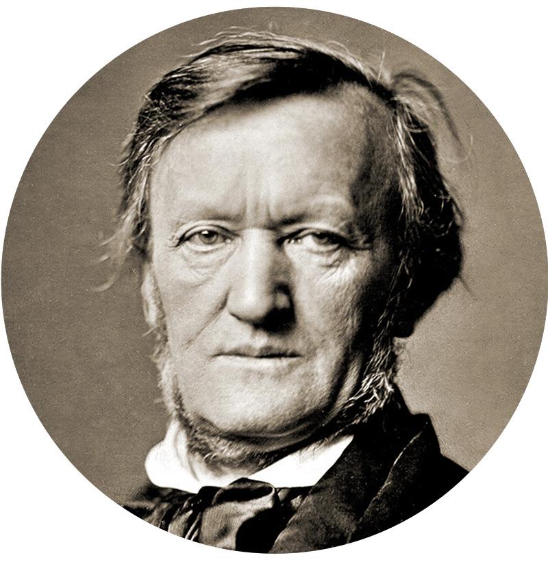 Richard Wagner – ©Franz Hanfstaengl