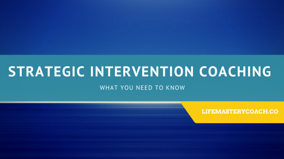 Strategic Intervention Coaching