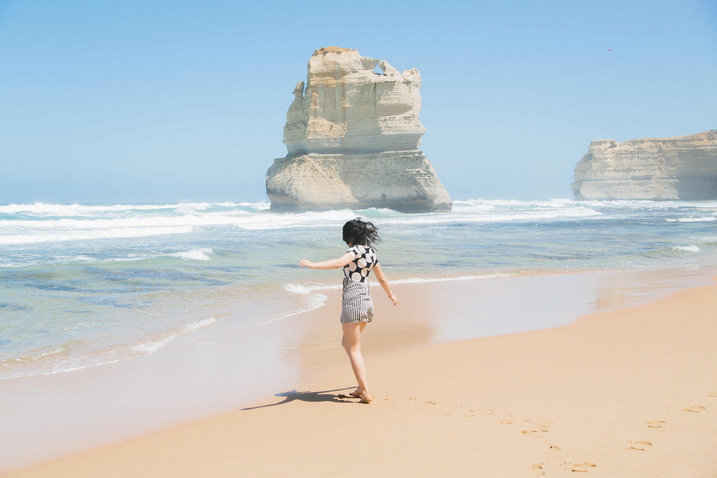 An editorial I shot of Cait along the Great Ocean Road.
