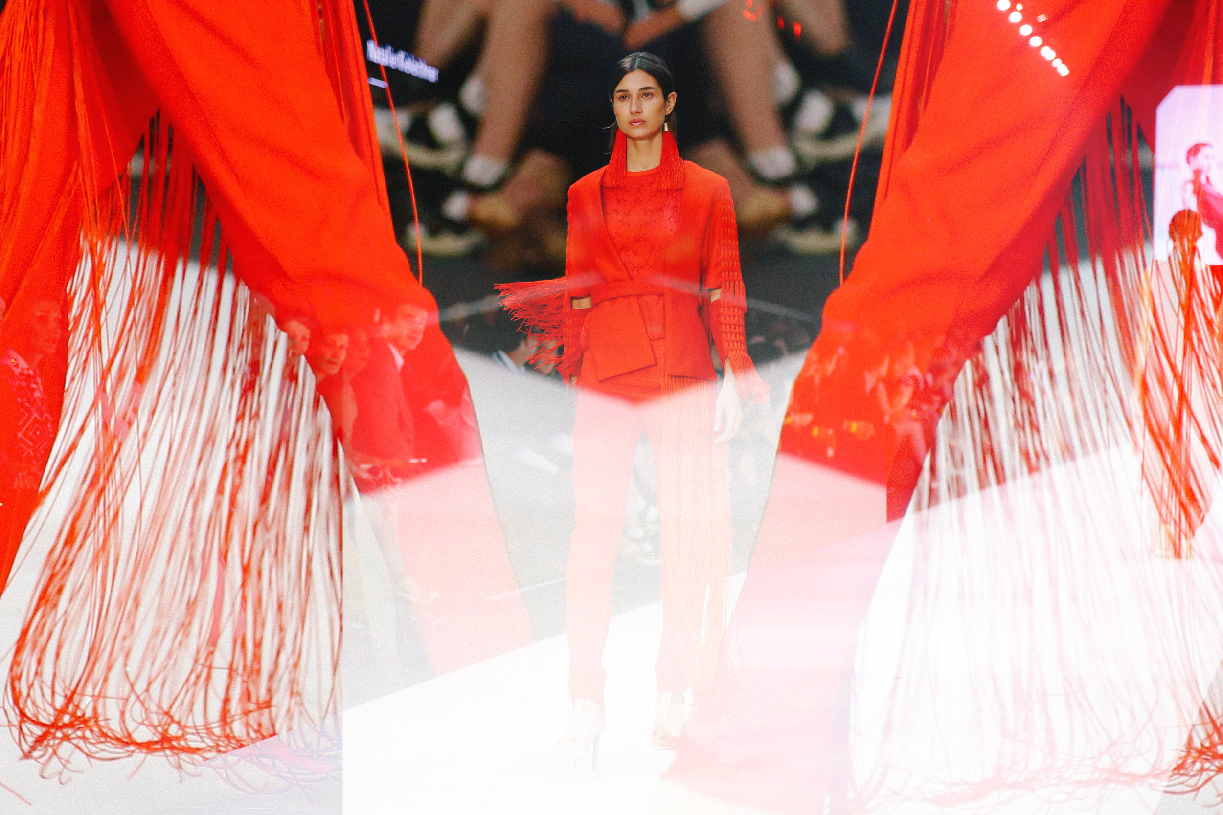 Think outside the box when editing your runway shots.
