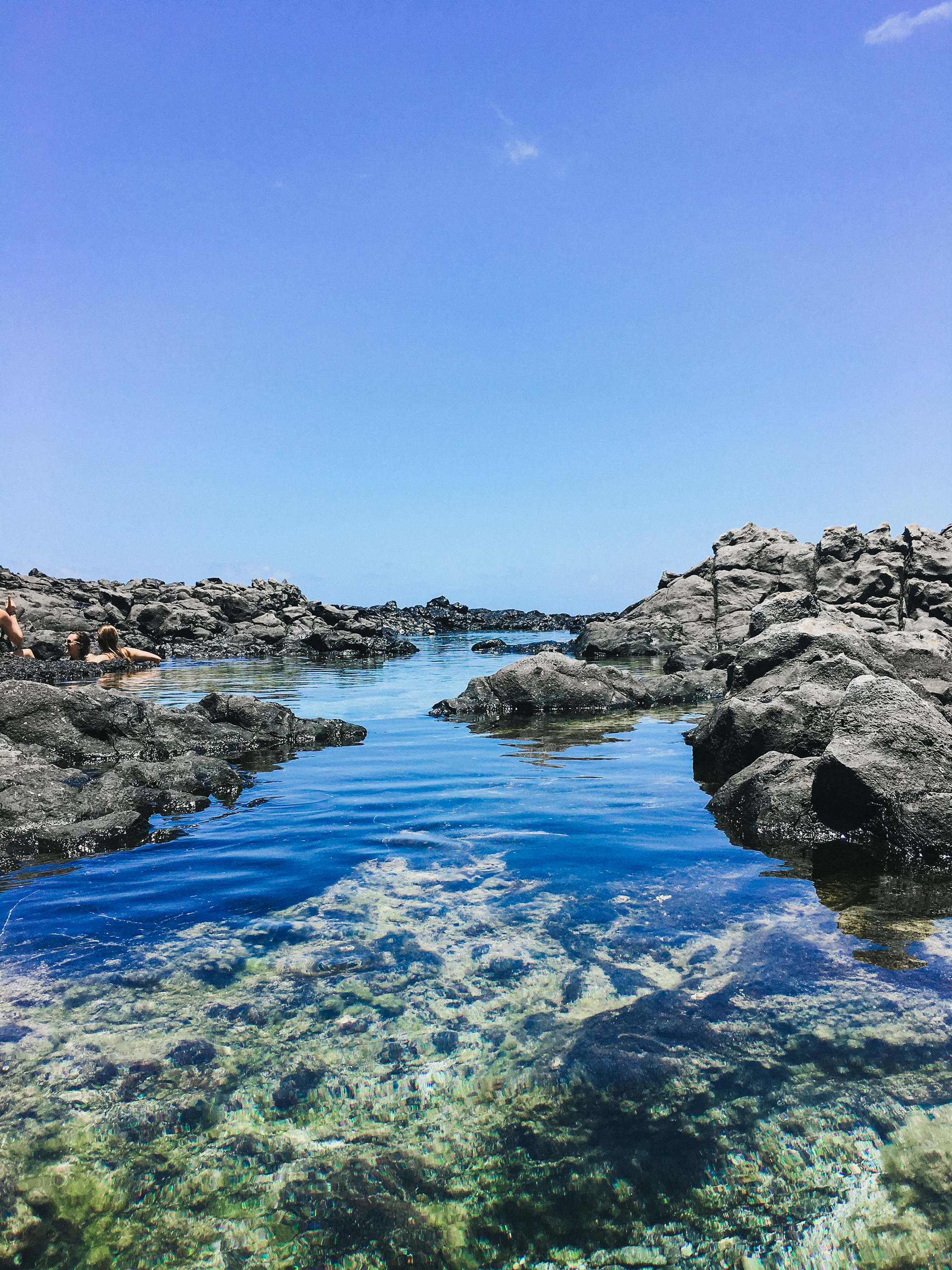 Makapu'u Tidal Pools are a hidden secret and well worth the climb down