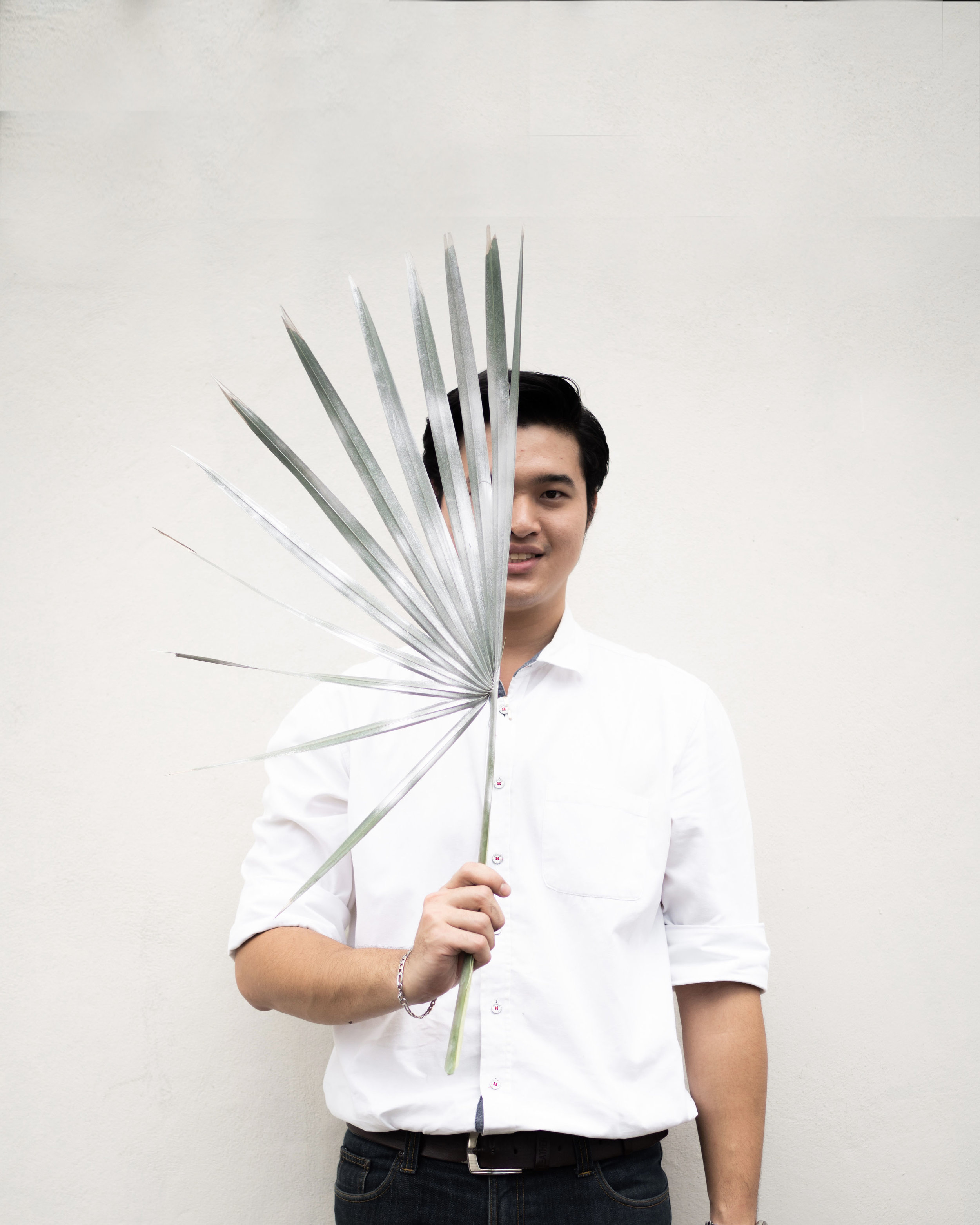 Second floral horticulturist of the team. Boss had an internship at PHKA before finished his study B.A. (Home Economics). at Suan Dusit School of Culinary Arts in 2018. Strengthening the florist team, Boss also handling development of detailed floral craft before an on-site installation. Finding rare materials and assembling them together for a unique piece is his expertise.  charoenkit@phkastudio.com