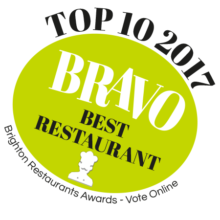 Top 10 Brighton Best Restaurant Award