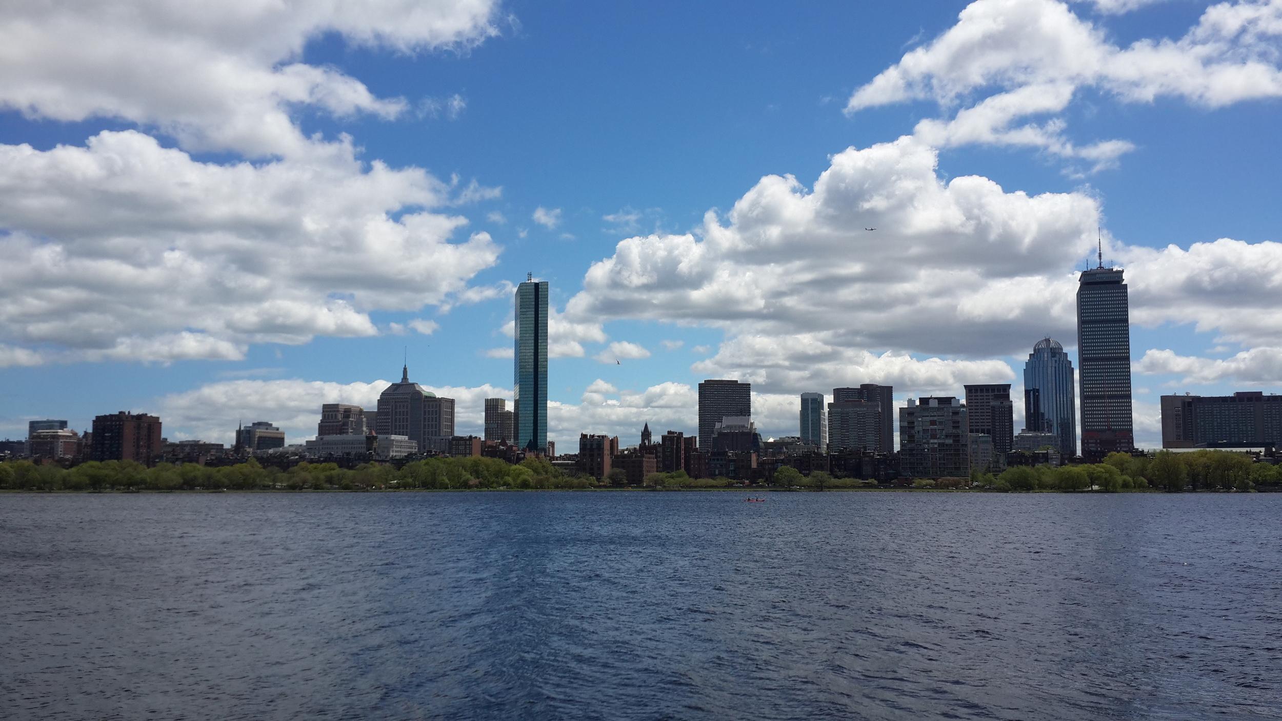 Boston view from Cambridge