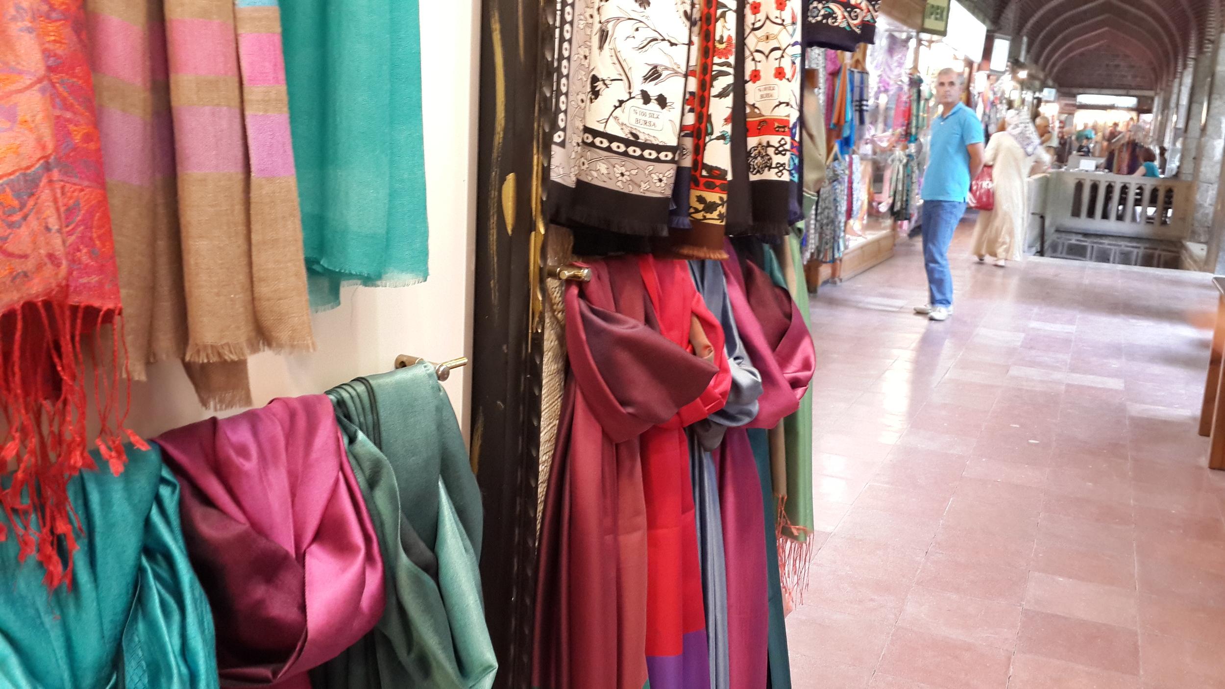 Inside the silk market