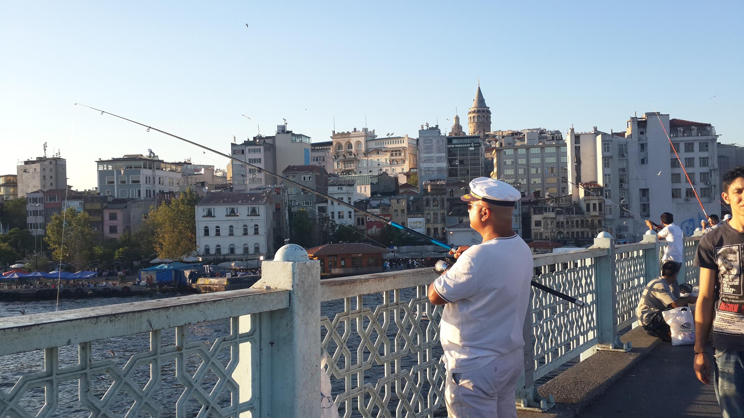 Galta bridge, Istanbul