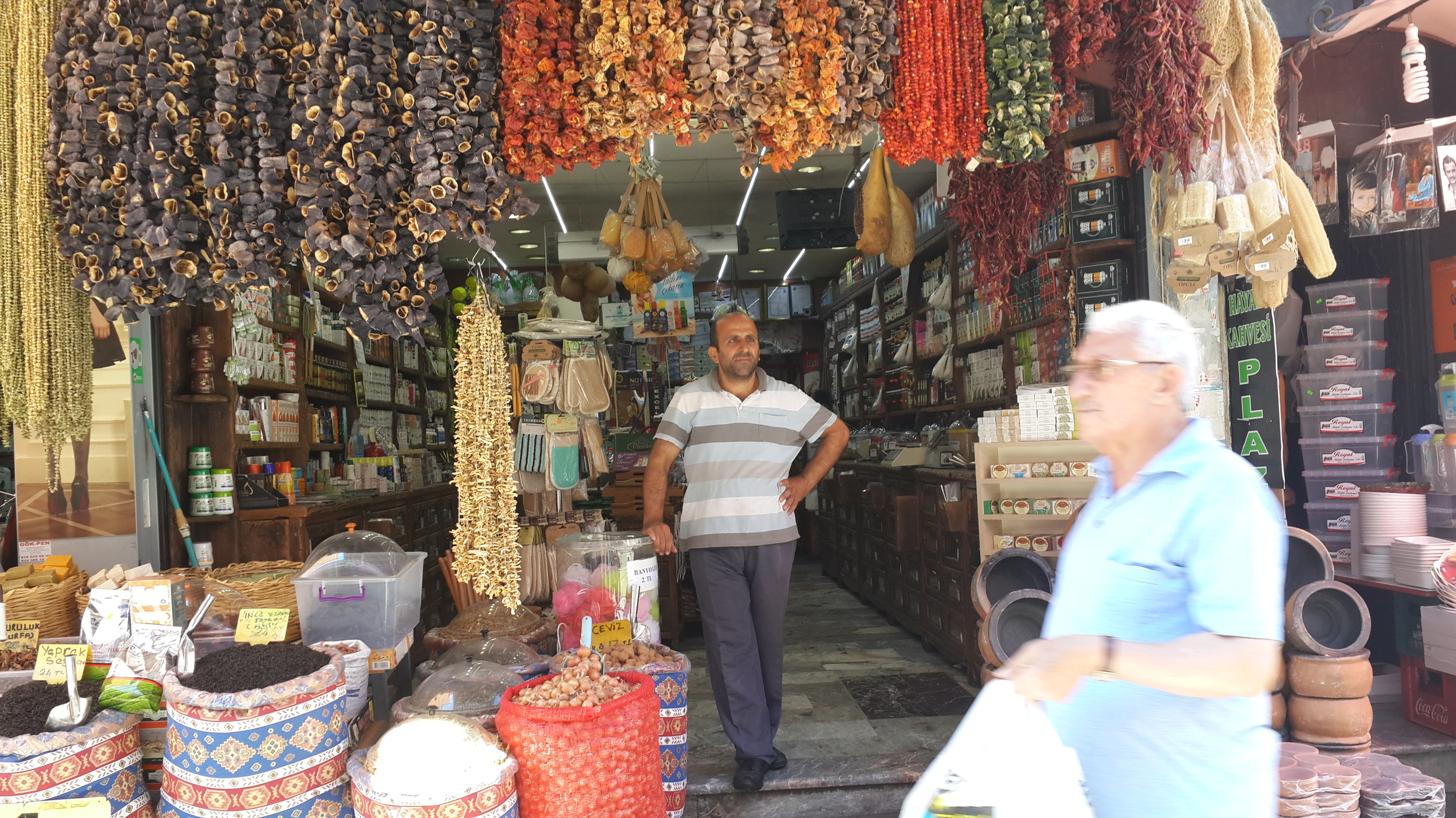 Market on the Asian side of Istanbul