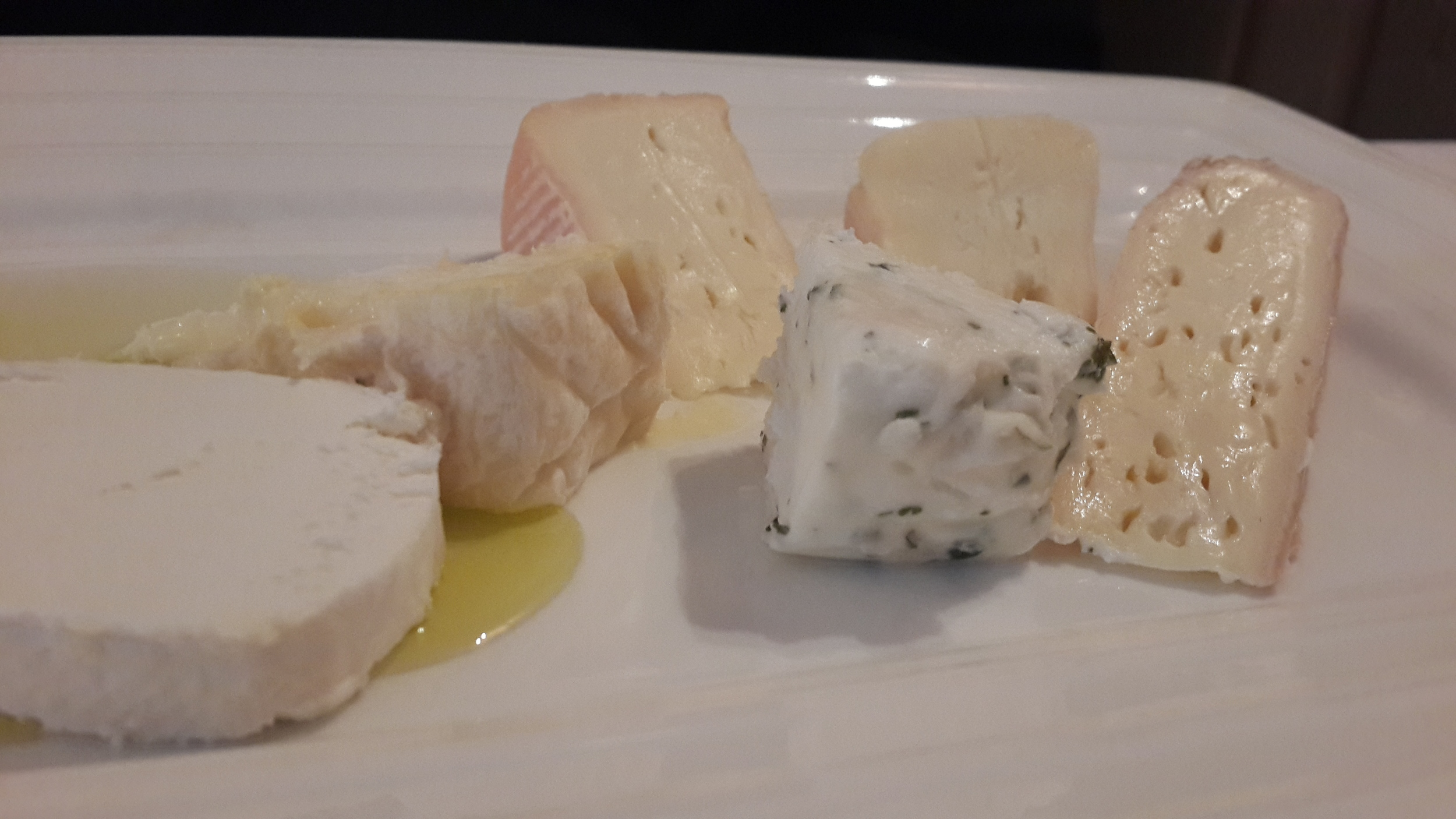 Cheese plate (some consider this a dessert).