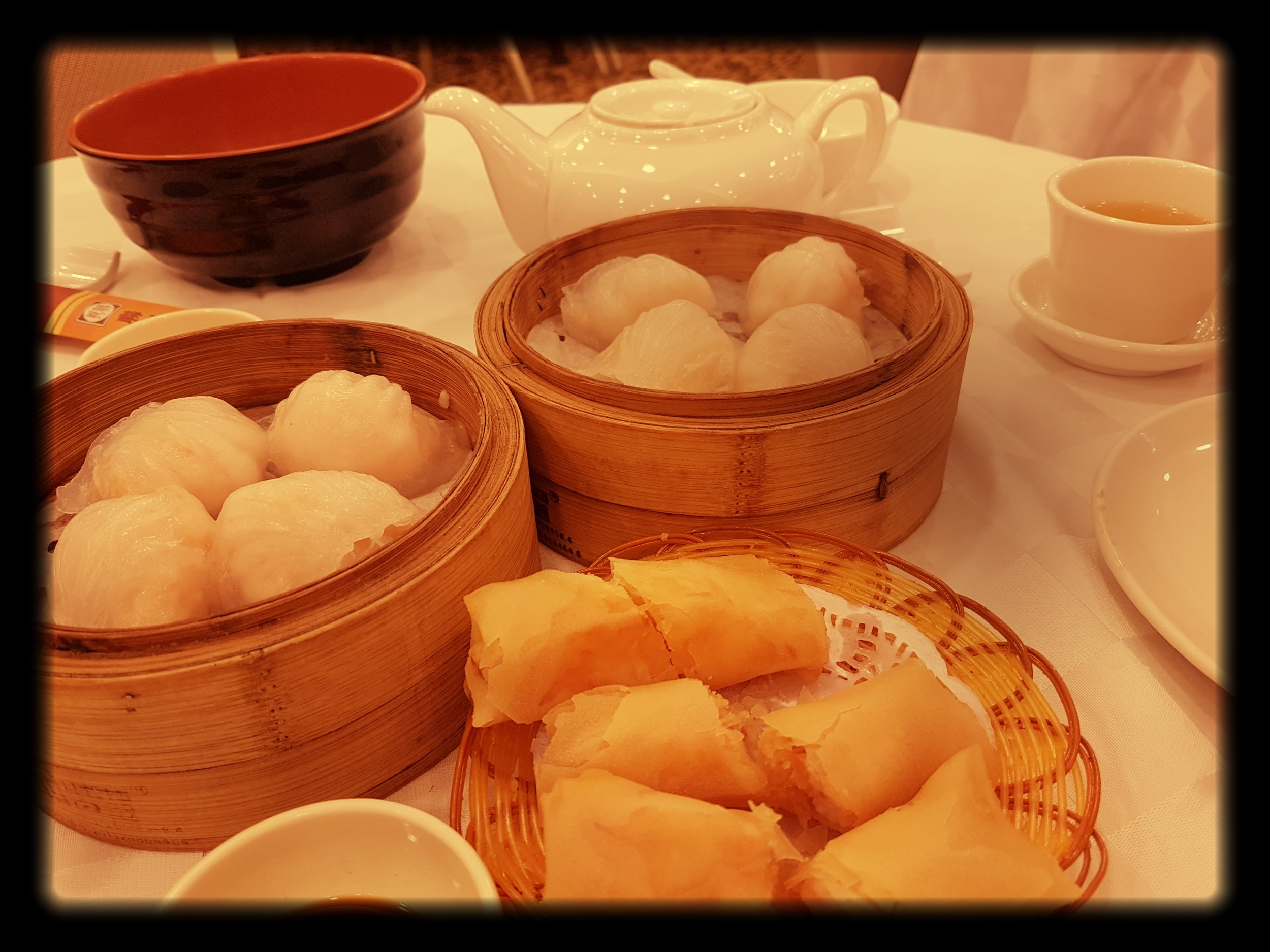 Dim sum @  Golden Federal Restaurant
