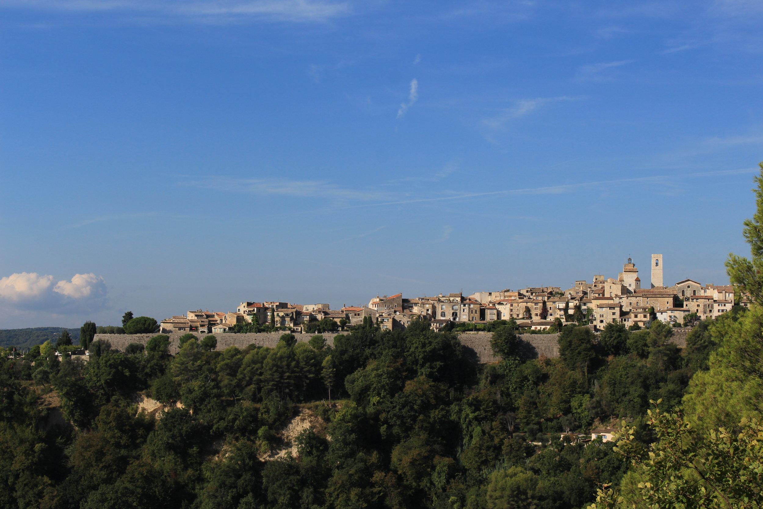 View of Saint-Paul-de-Vence