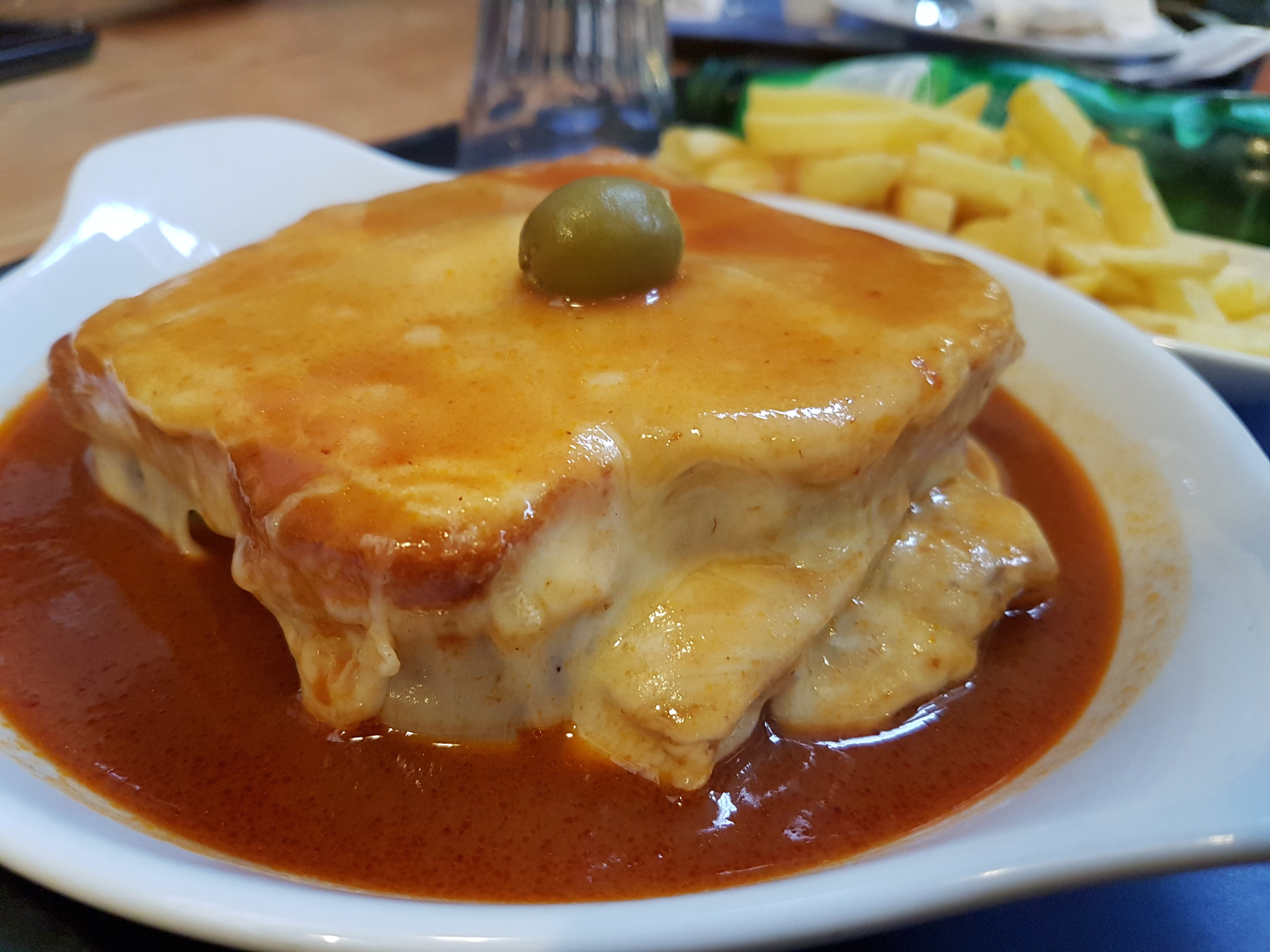 Francezinha, a Portuguese speciality