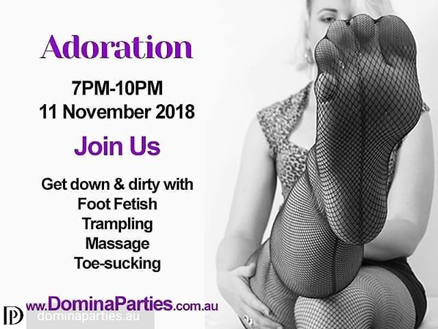 domina parties multi mistress multi slave adoration foot fetish crushing squashing foot worship