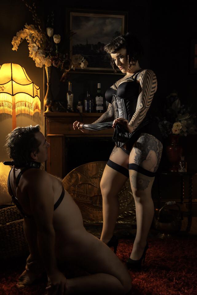 Miss Tallula leather flogger leather corset lingerie.jpg