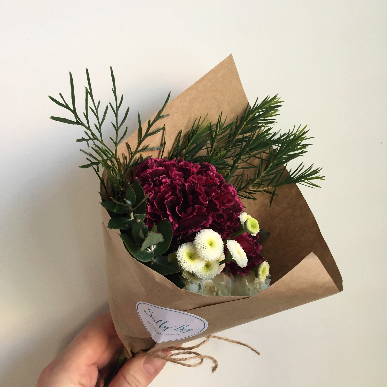Belrose Mother's Day Flowers maroon theme.JPG