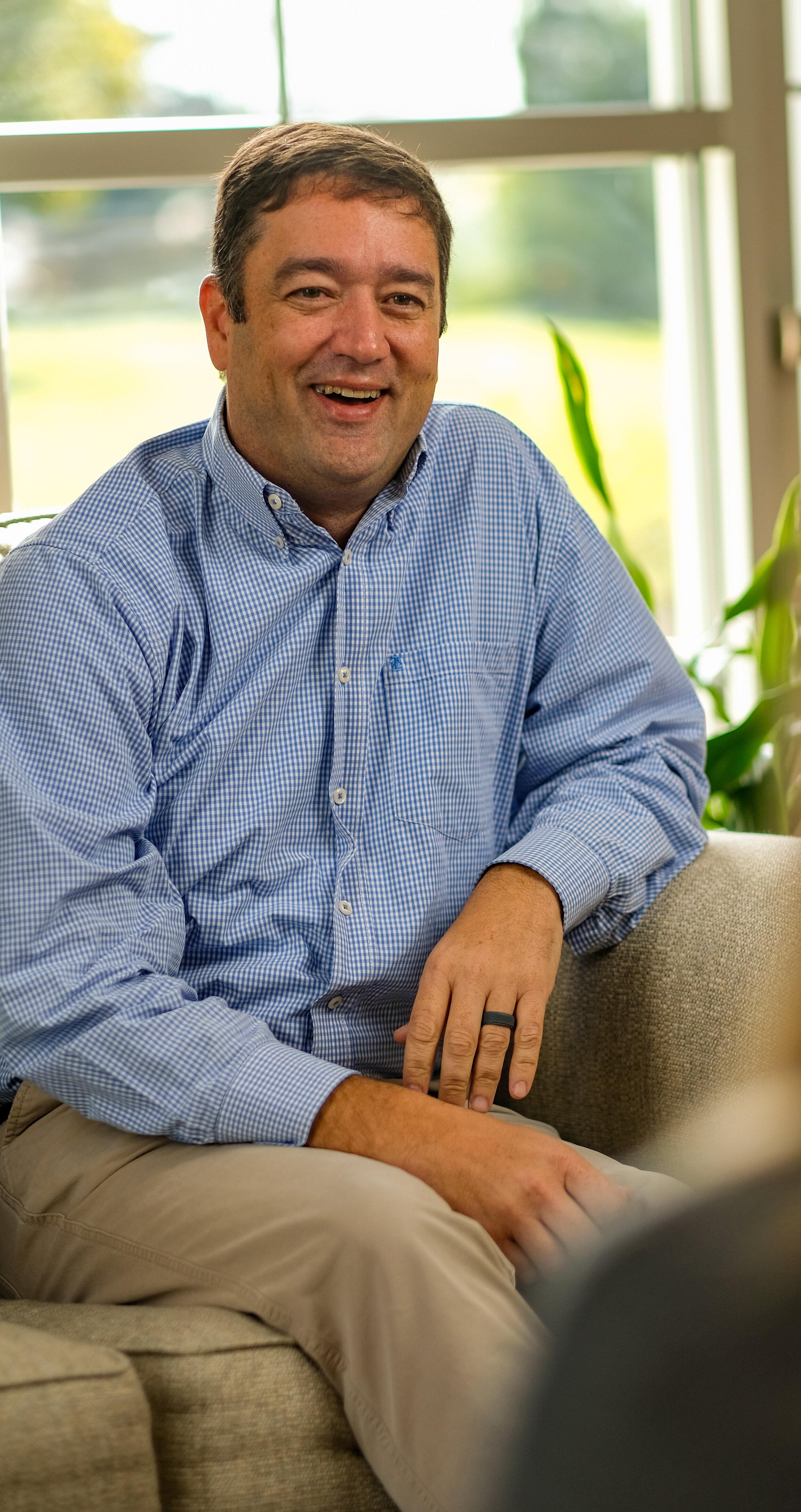 Nathan Tircuit, senior pastor