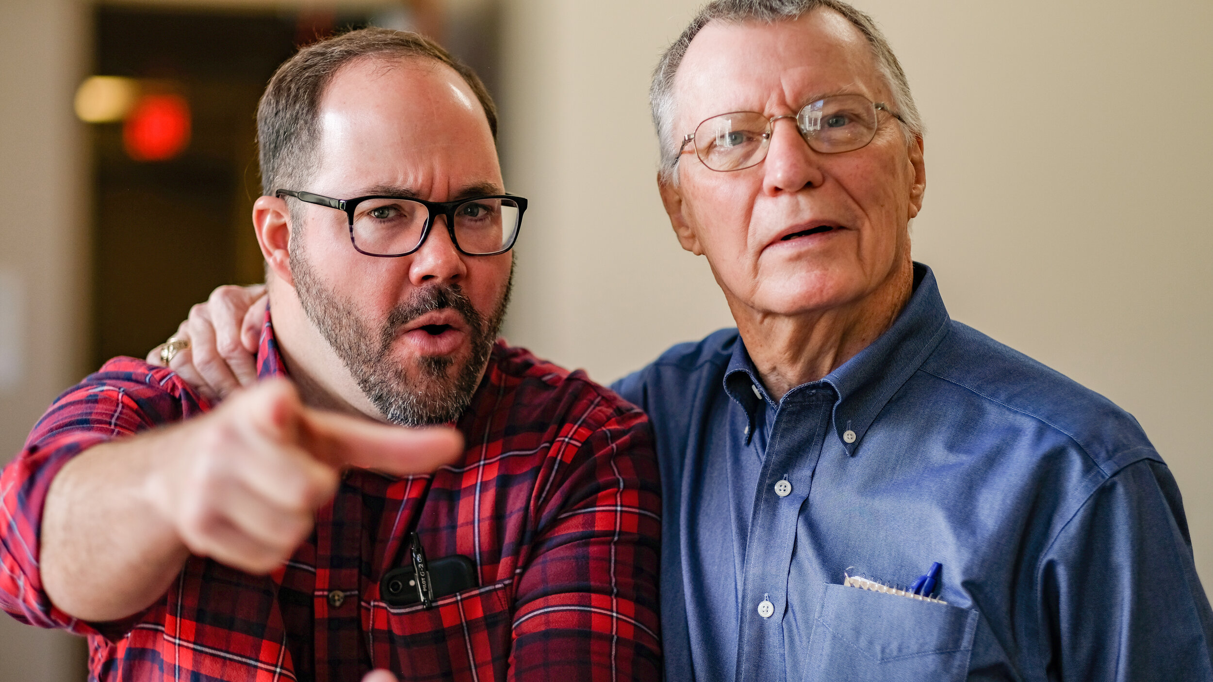 Barrett Black (music director), Woody Markert (assistant pastor)