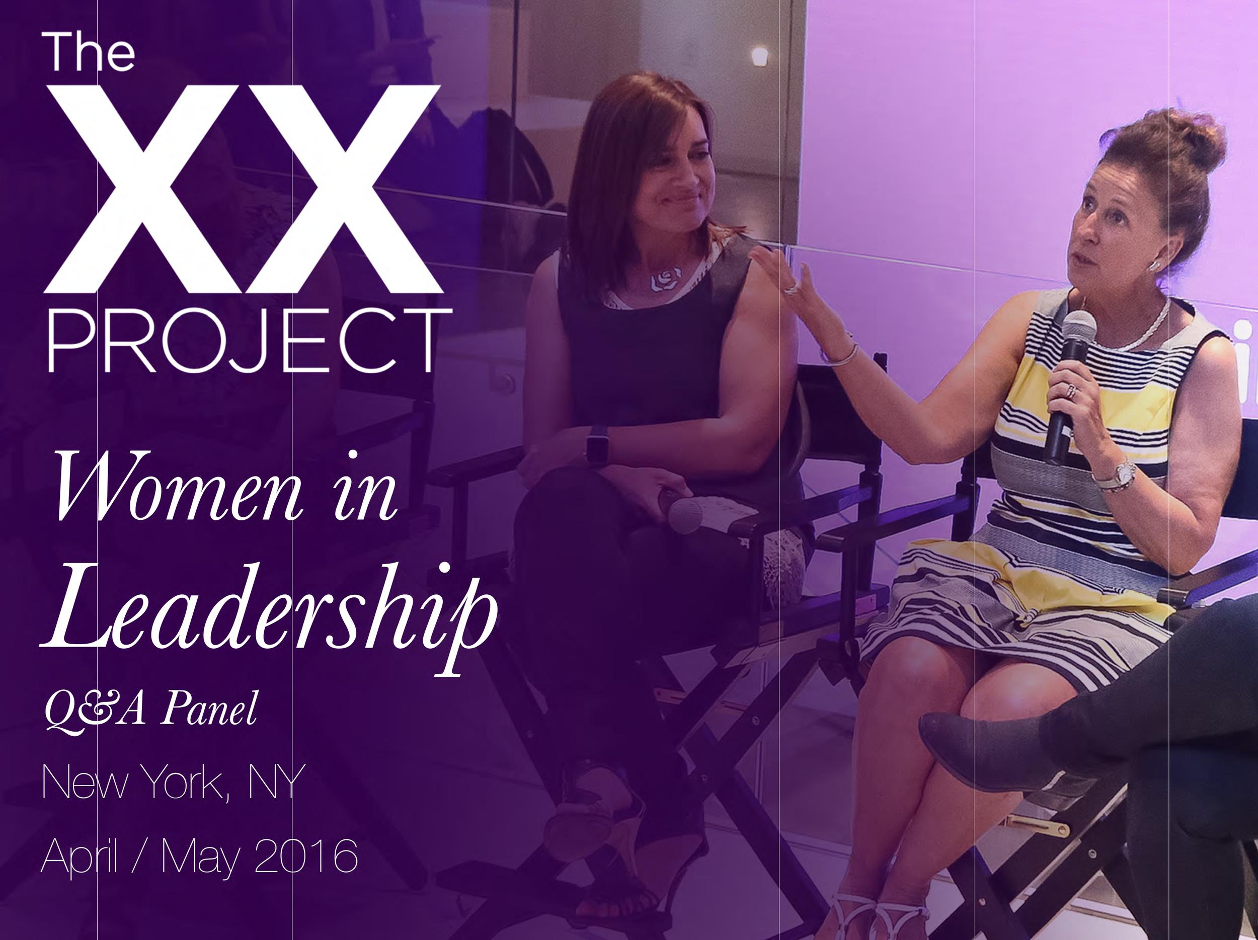 Women in Leadership Q&A Panel