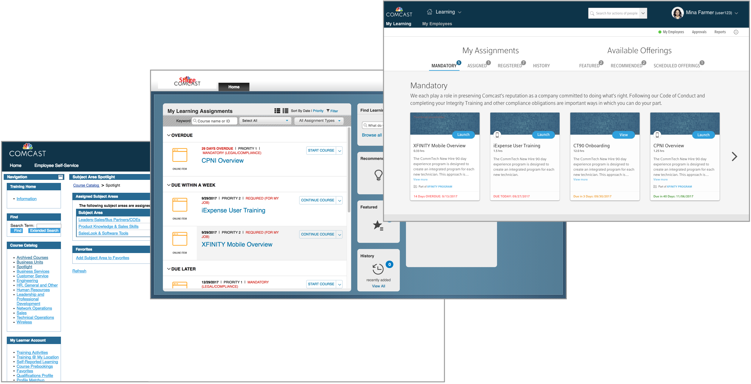 Research driven design: myLearning platform -