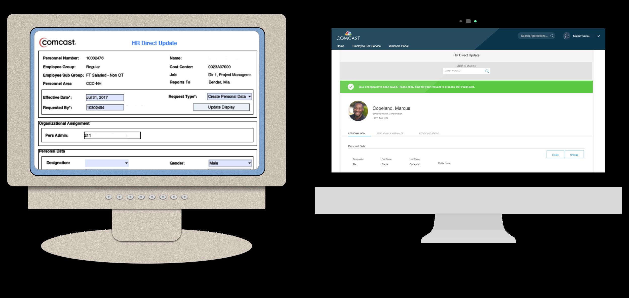 Enterprise UX: Redesigning a legacy app -