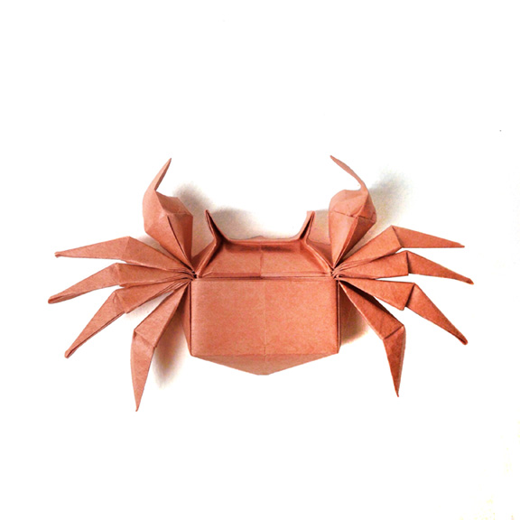 How to Make an Origami Crab | Free Printable Papercraft Templates | 576x576