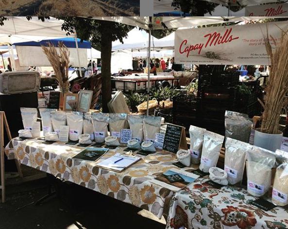 Capay Mills farmers market northern CA Bay Area